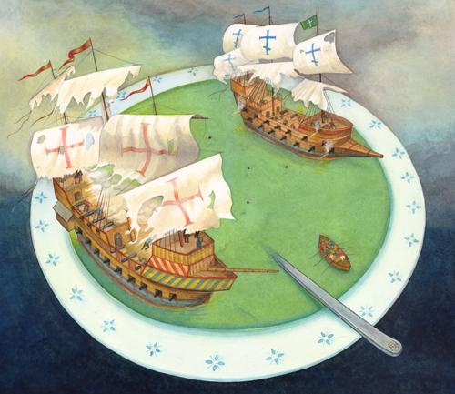 Soup Ship Battle